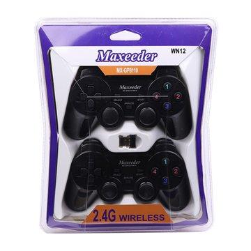 دسته بازی دوبل بی سیم مکسیدر مدل MX-GP8110 WN12