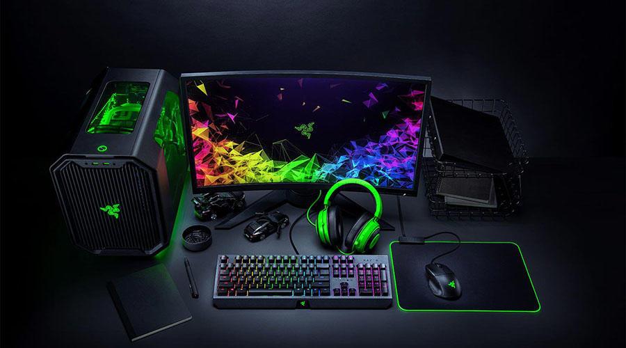 کیبورد گیمینگ ریزر مدل BlackWidow 2019 Green Switch