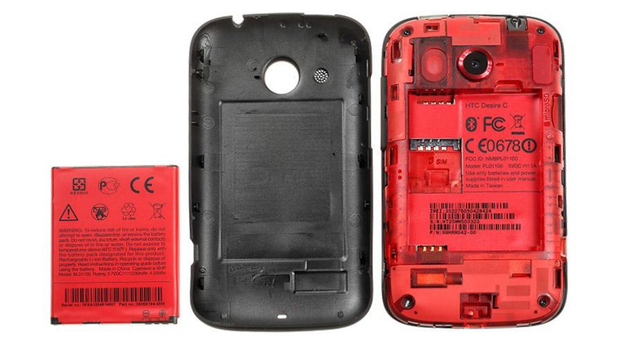 باتری اورجینال گوشی HTC Desire C