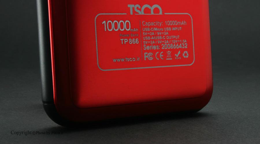 شارژر همراه تسکو مدل TP 866L