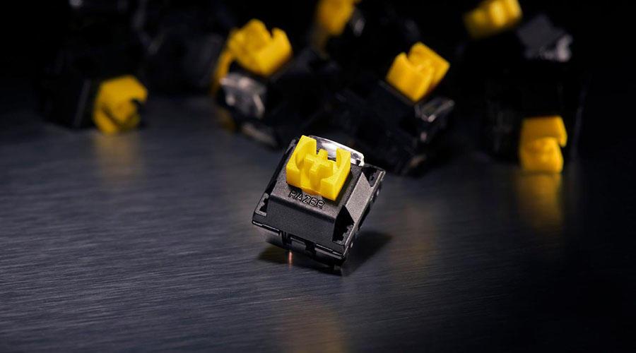 کیبورد گیمینگ Razer BlackWidow Elite Yellow Switch
