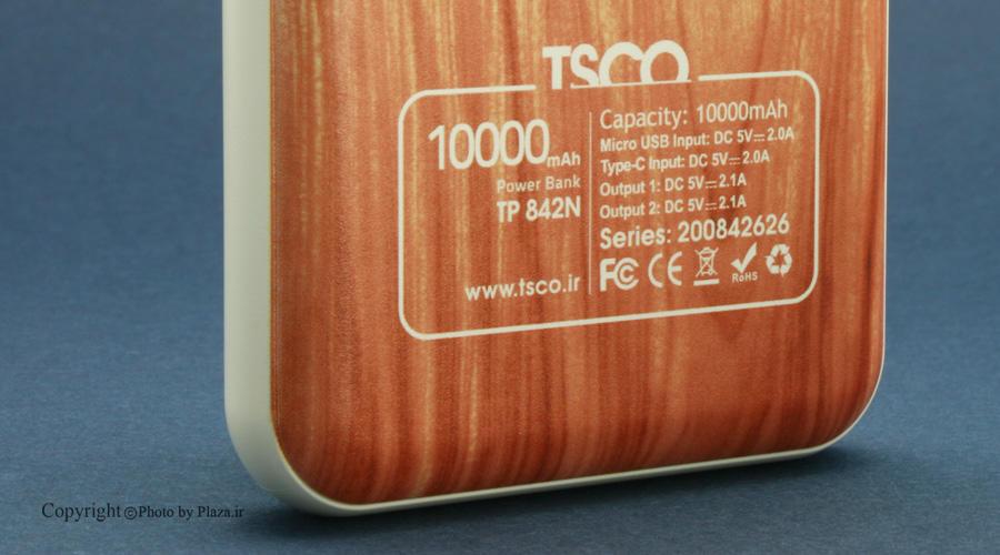پاور بانک TSCO TP 842N