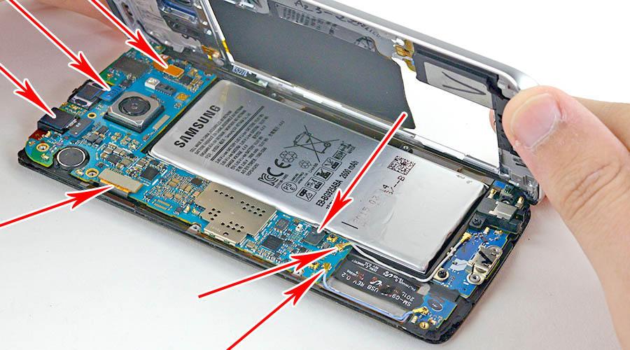 باتری گوشی S6 Edge
