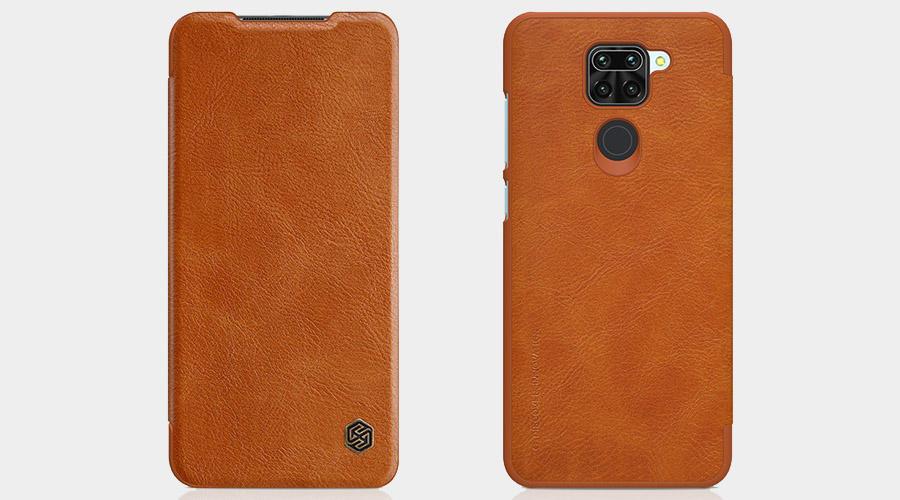 عکس کیف چرمی نیلکین Redmi Note 10x 4G