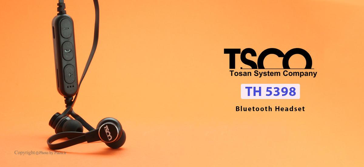 تصویر هدست بلوتوث تسکو مدل TH 5398