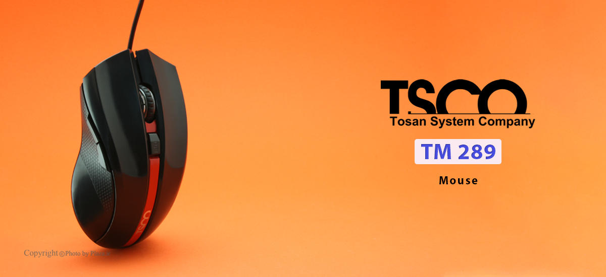 عکس ماوس تسکو مدل TM 289