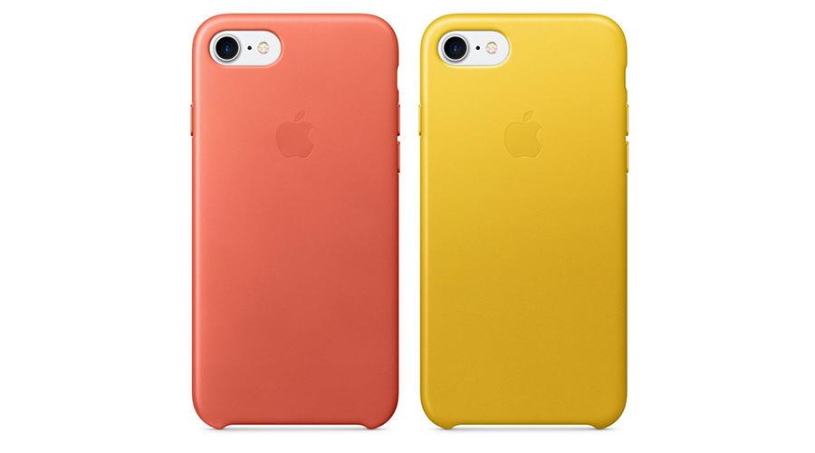 کاور چرمی اپل آیفون 7