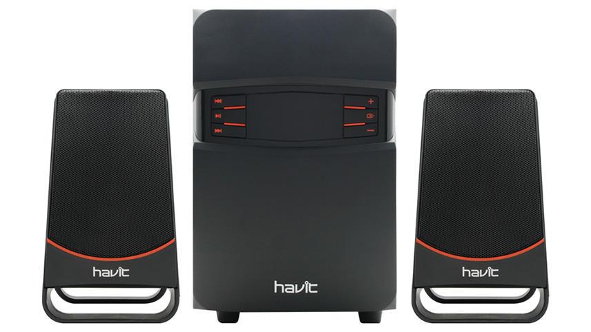 اسپیکر بلوتوث 3 تکه هویت مدل HV-SF7700BT