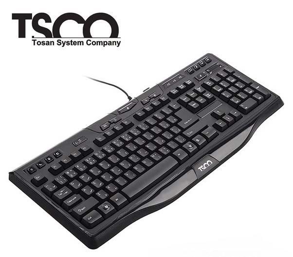 کیبورد tsco tk 8018