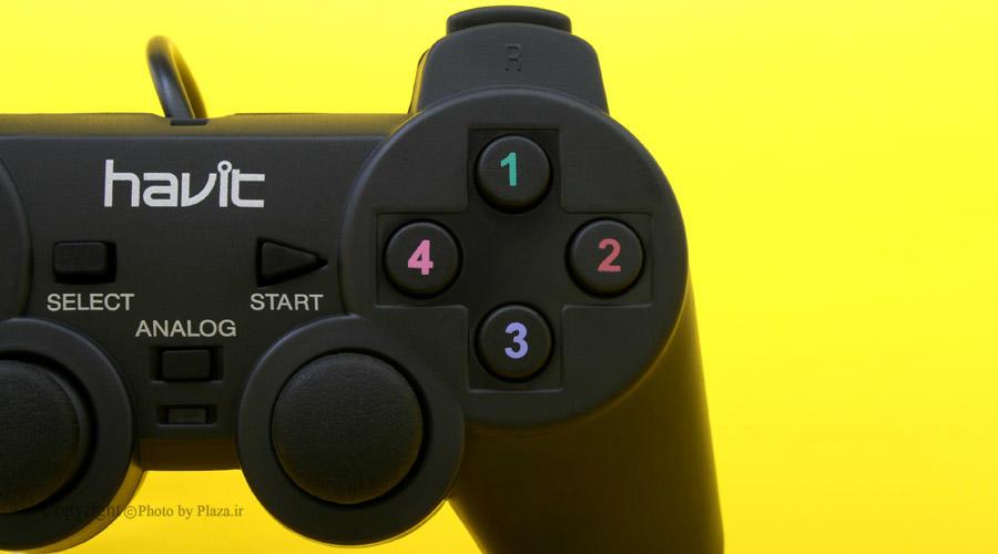 گیمپد هویت مدل HV-G61