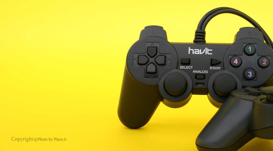 گیم پد دوبل هویت مدل HV-G61