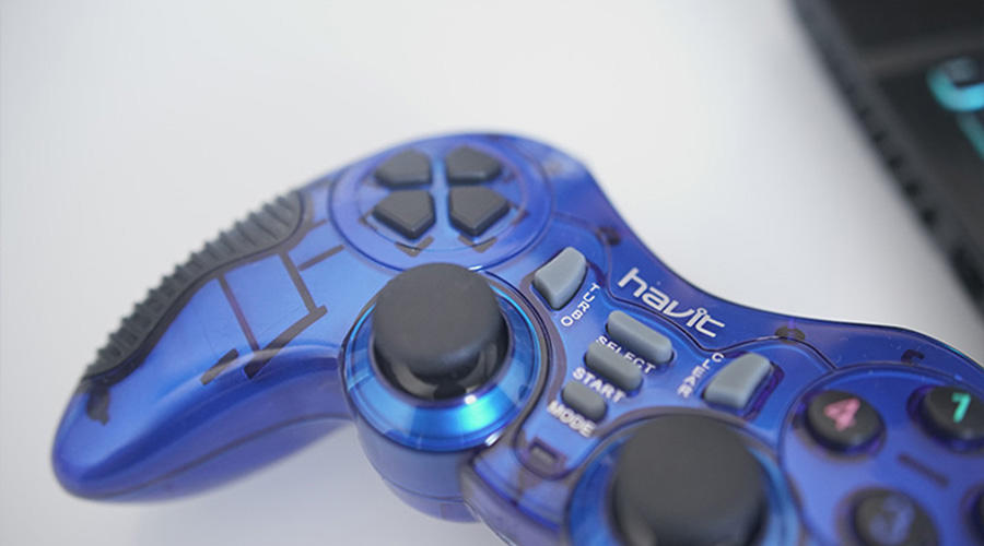 دسته بازی بی سیم هویت مدل  HV-G89w