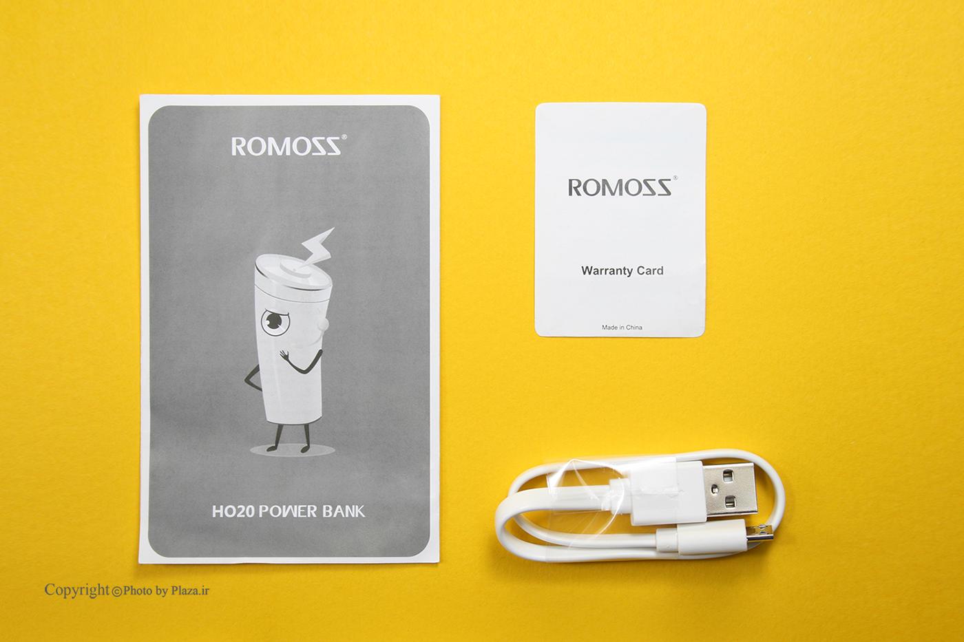 پاوربانک روموس مدل HO20 Horus