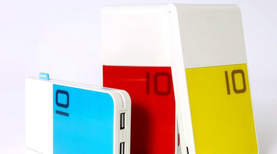 پاوربانک 10000 ریمکس مدل Colorful