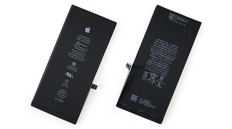 تعویض باتری ایفون 7 پلاس