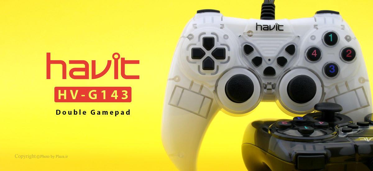 دسته بازی دوبل هویت مدل HV-G143