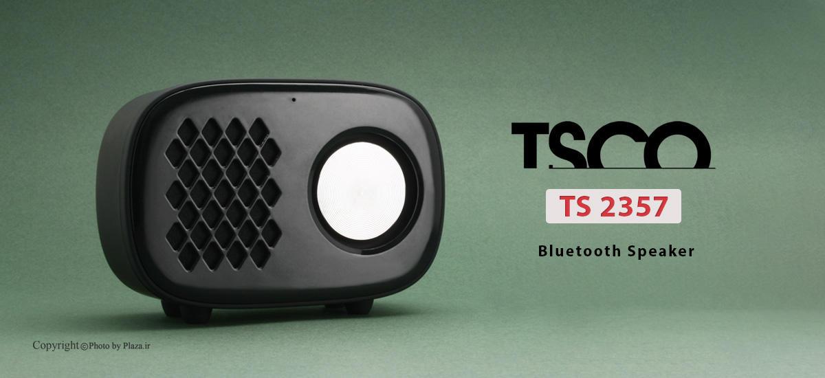 اسپیکر بلوتوث تسکو مدل TS 2357