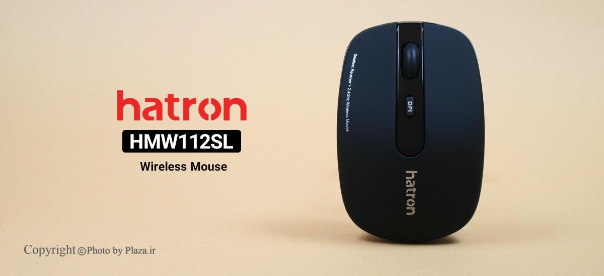 موس بی سیم هترون مدل HMW112SL