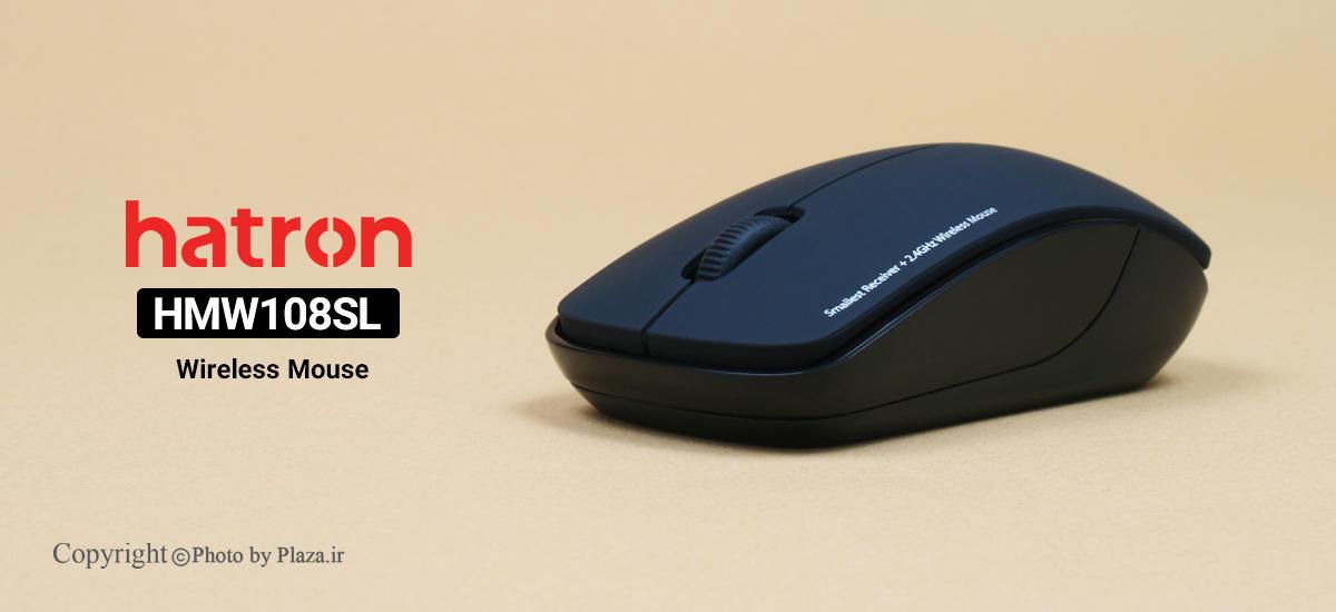 ماوس بی سیم هترون مدل HMW108SL