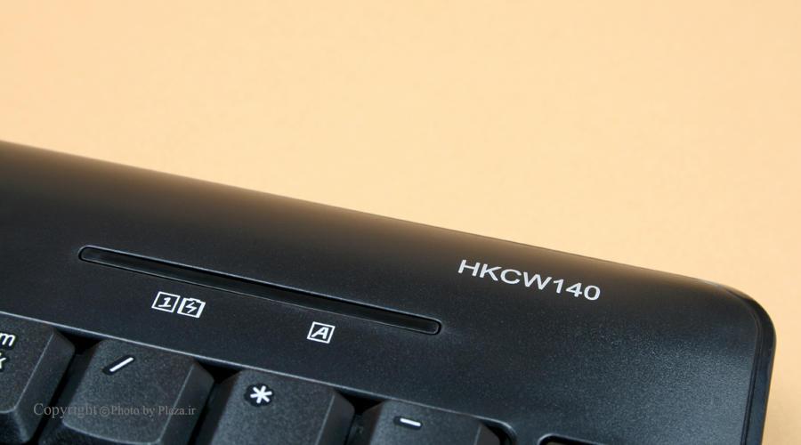 کیبورد بی سیم هترون مدل HKCW140