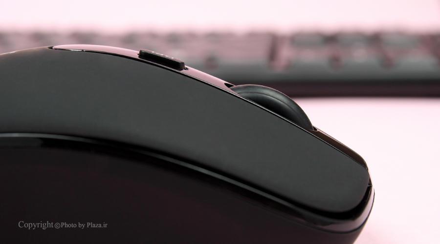 کیبورد و موس بی سیم هترون مدل HKCW130