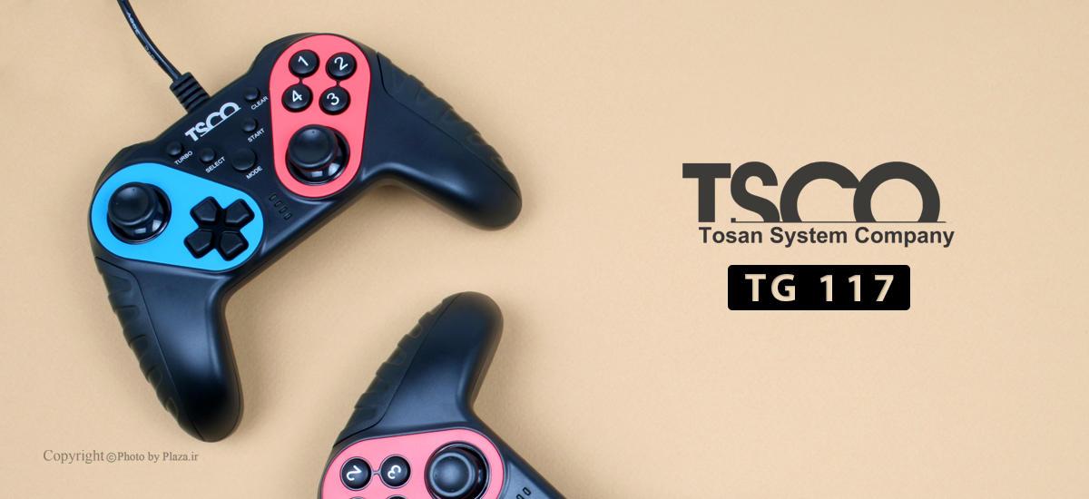 دسته بازی کامپیوتر تسکو مدل TG 117