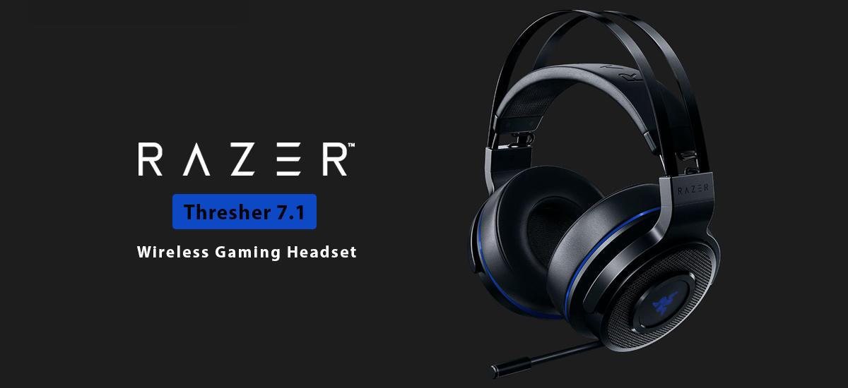 هدست گیمینگ Razer Thresher 7.1 برای PS4