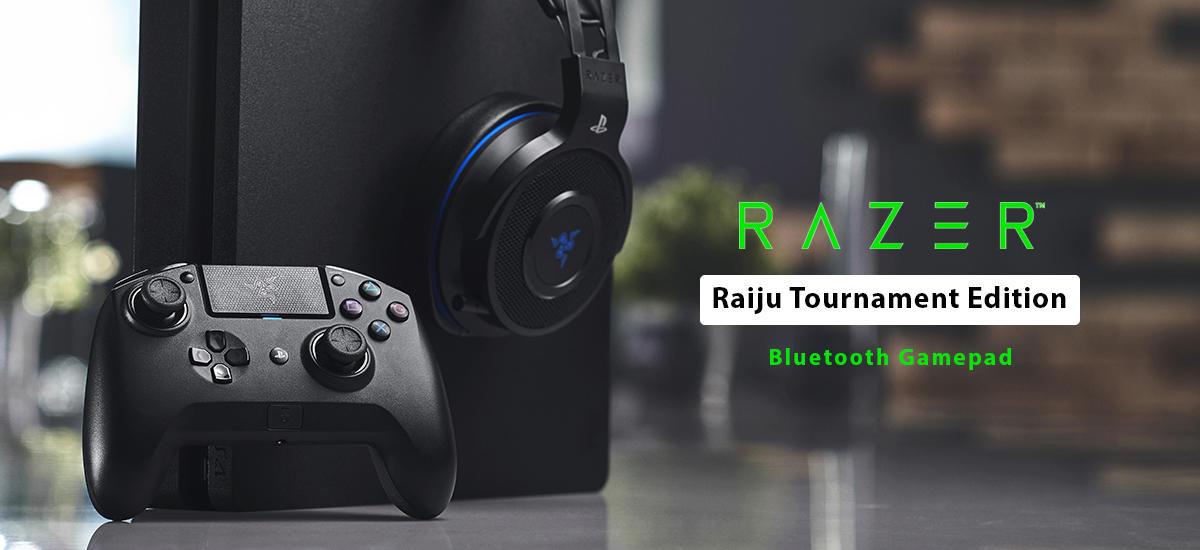 دسته بازی بلوتوث ریزر مدل Raiju Tournament Edition