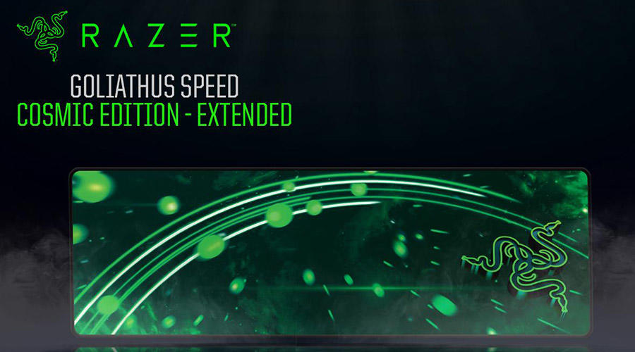 موس پد گیمینگ ریزر مدل GoliaThus Speed Cosmic Edition Extended